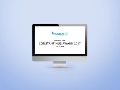 Unser Provider beim Constantinus-Award 2017 ausgezeichnet