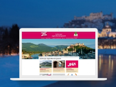 Websites Salzburger Jugendherbergswerk im Responsive-Design (erneuter Relaunch)