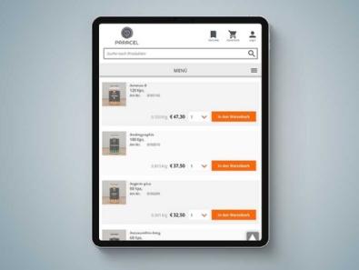 """Online-Shop """"Paracel Vitalstoffe"""" (erneuter Relaunch)"""