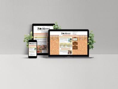 """Website Bistro & Kochschule """"Köchlerei"""" Salzburg im mobil-optimierten Design"""