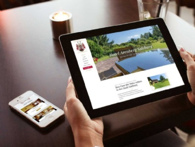 "Website-Relaunch ""Hotel / Pension Haus Arenberg Salzburg"""