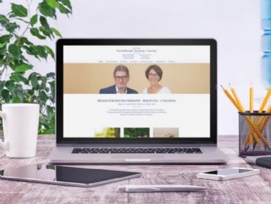 Website-Relaunch für Psychotherapiepraxis in Ried und Salzburg