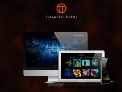 Website-Relaunch Tangerine Dream
