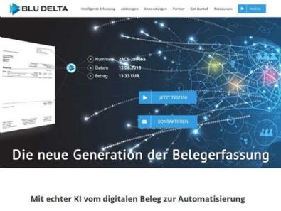 Website-Relaunch BLU DELTA